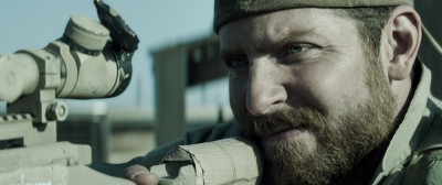 "Bradley Cooper as the ""American Sniper"" Chris Kyle"