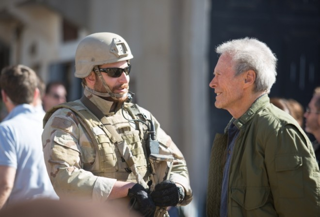Bradley Cooper and Director, Clint Eastwood - American Sniper