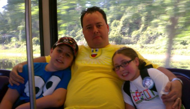 On Disney Bus