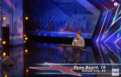 Ryan Beard on America's Got Talent